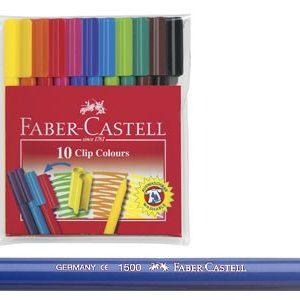 Faber-Castell ФЛУМАСТРИ, 10 цвята