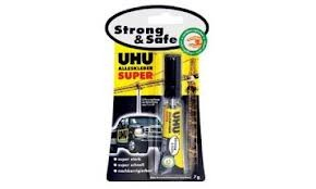 Лепило UHU Strong and Safe 7гр