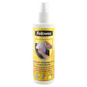 Почистващ спрей за екрани, Fellowes,250ml