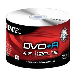 DVD+R EMTEC 4,7GB 120 min 16x