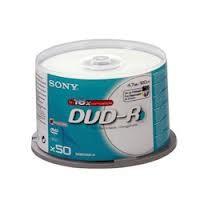 DVD-R SONY 120min./4,7Gb 16X