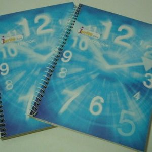 А5,широк ред,80листа,Notebook