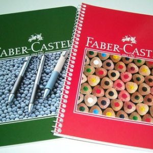 А5,широк ред,80листа,Faber Castell