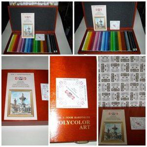 Koh-I-Noor Polycolor - Art set 36 цвята + 2В и 5В
