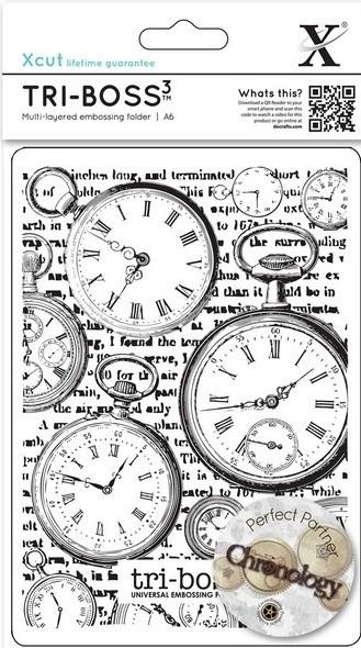 Папка за релеф A6 - Chronology /Clocks