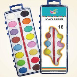 Акварелни бои Beifa WMZ 16 цвята