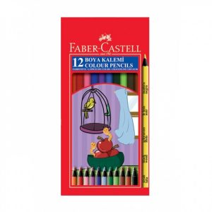 Цветни моливи 12 цв Faber Castell Black