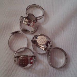 Халка за пръстен,регулираща,сребриста