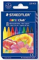 Маслени пастели NC 220 8 цвята