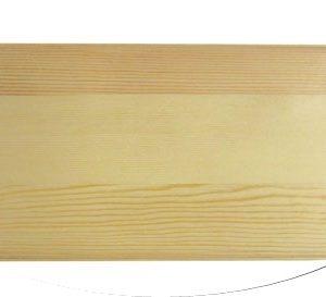 Дървена табела с фриз