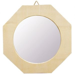 Дървено огледало