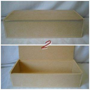 Бижутерна кутия МДФ 34х16х9см