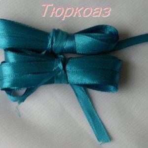 Текстилна лента сатен 1см