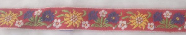 Текстилна лента сатен 2,5см