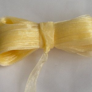 Текстилна лента органза 1см