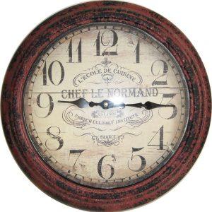 Часовник - метал 36,5см