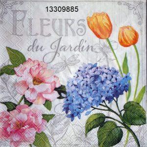 Цветя 33х33см