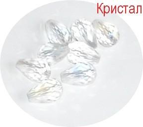 Кристални капки 10х7мм