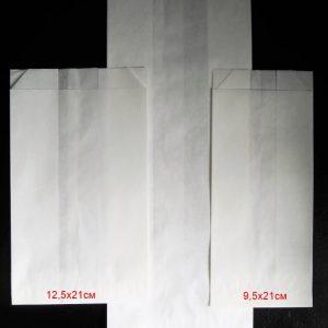 Плик хартиен маслоустойчив без печат 40 гр/м2 12,5х21см