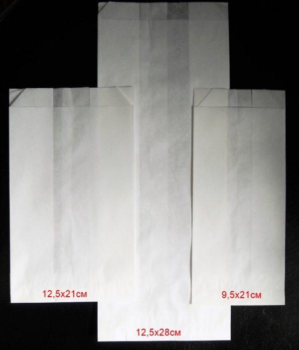 Плик хартиен маслоустойчив без печат 40 гр/м2 9,5х21см