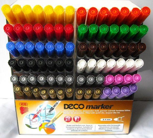 DECO маркери,за стъкло,порцелан,керамика