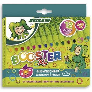 Флумастери Jolly Booster XL 12цв