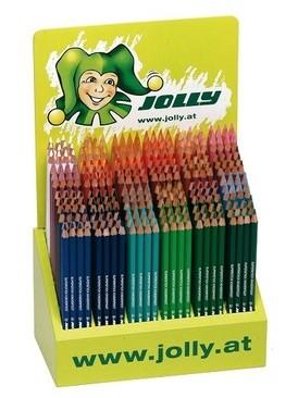 Цветни моливи Jolly Kinderfest основни и вторични цветове 1 цвят