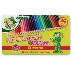 Цветни моливи Jolly Kinderfest Classic 36цв