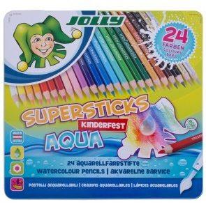 Акварелни цветни моливи Jolly Kinderfest Aqua 24цв