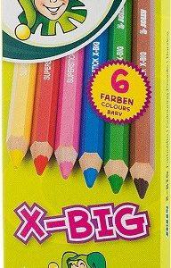 Цветни моливи Jolly X-BIG 6цв