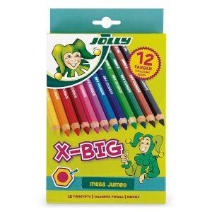 Цветни моливи Jolly X-BIG 12цв