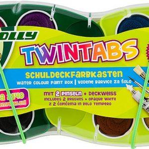 Акварелни бои Jolly Twintabs 12цв