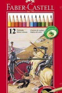 Цветни моливи FC 12цв метална кутия
