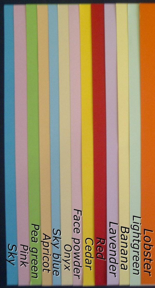 Цветна хартия 80гр