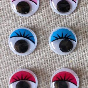 Очи цветни с мигли