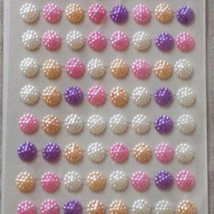 Самозалепващи камъчета - Цветя